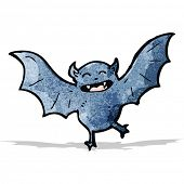 foto of vampire bat  - cartoon vampire bat - JPG