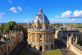 stock photo of soul  - The Oxford University City Photo in the top of tower in St Marys Church - JPG