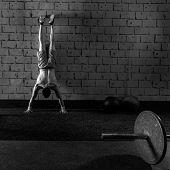 image of pus  - Handstand push - JPG