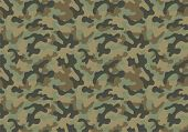 foto of camo  - Camouflage background with a seamless design - JPG