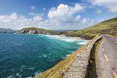 picture of ireland  - Coast road at Slea Head Drive Iveragh Peninsula County Kerry Ireland - JPG