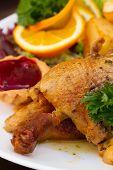 pic of roast duck  - polish traditional  dish  - JPG
