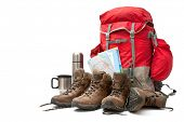 picture of boot camp  - hiking equipment - JPG