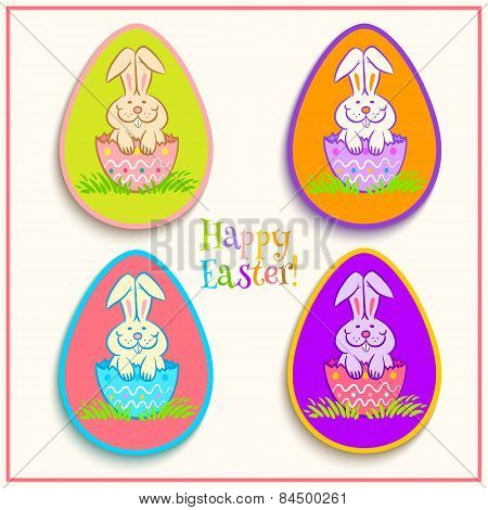 Stickers Easter Bunny