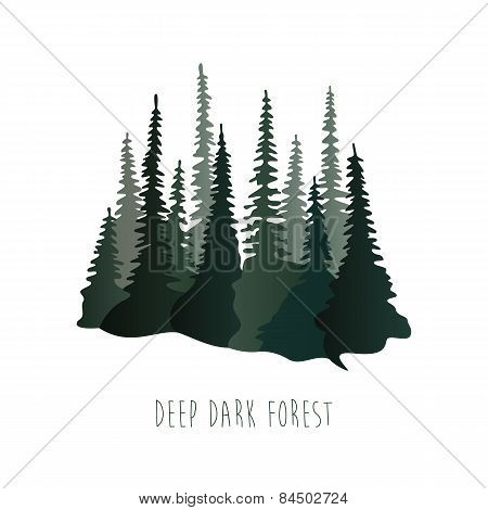 Deep dark forest