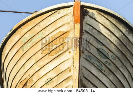 Ship Wooden Rescue Boat
