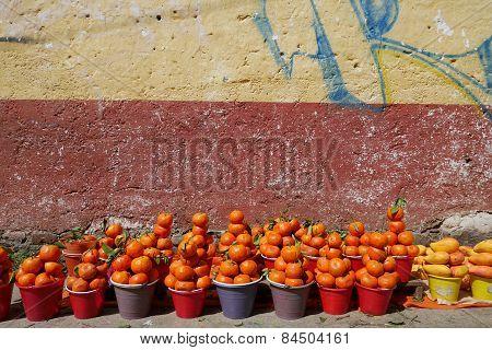 Tangerine and Mangos