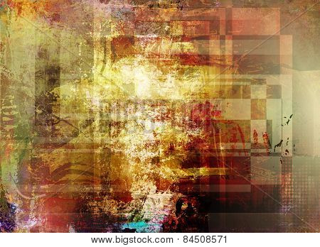 Abstract Decorative Artwork