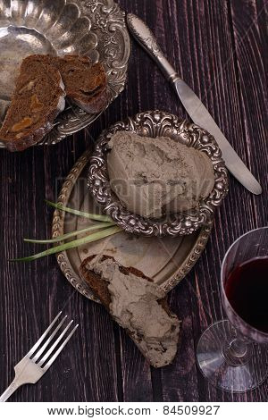 Paste From Beef And Red Wine