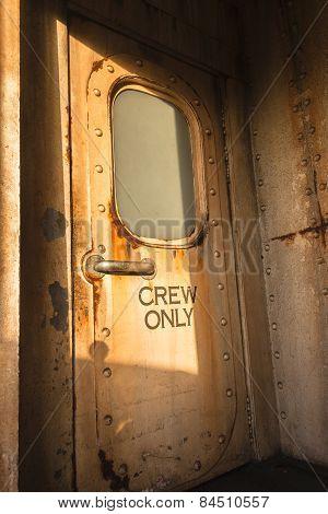 Ship Cabin Door