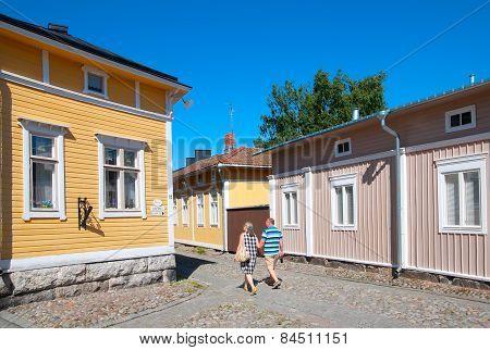 Rauma. Finland. Old Rauma