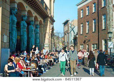 Utrecht City Center, Holland