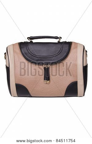 Female Handbag On A White Background