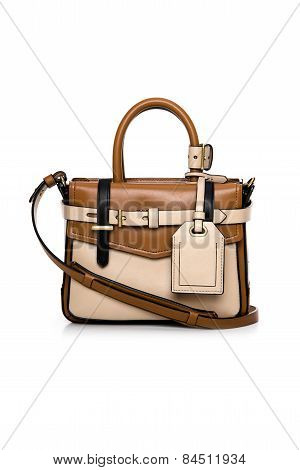 Women Handbag On A White Background