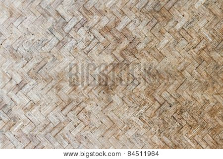 Woven Bamboo Pattern Texture