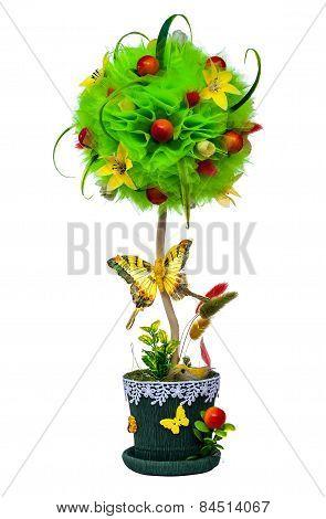 Topiary decorative tree