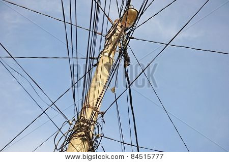 Tangled Electric Wires