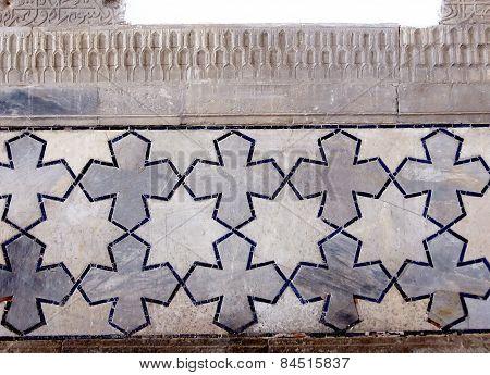 Samarkand Bibi-khanim Detail Of Ornament