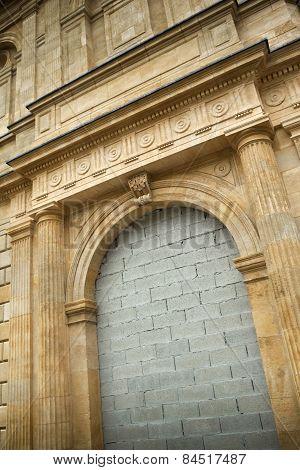 Walled Door