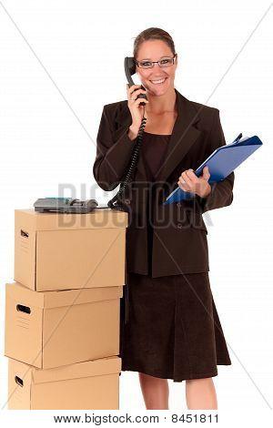Secretary Postal  Package Telephone