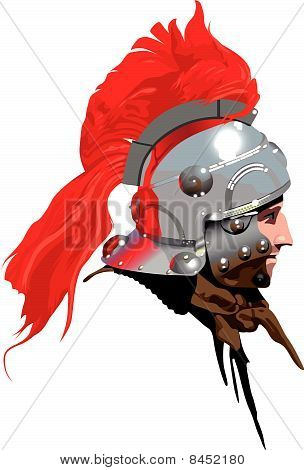 Roman Soldier (Centurion) Illustration 2 : Bigstock