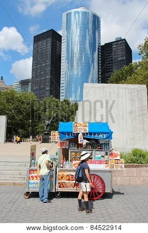 Battery Park Food Stand