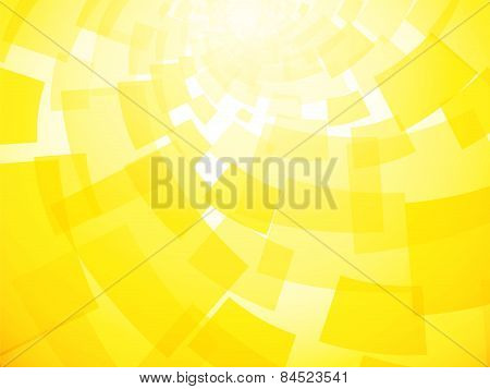 Modern Twisted Light Yellow Background With The Motif Papers