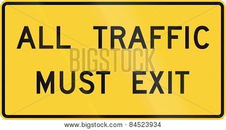 All Traffic Must Exit
