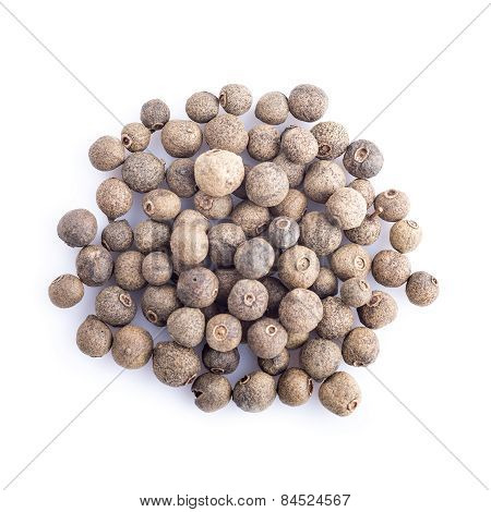 Allspice Isolated On A White Background