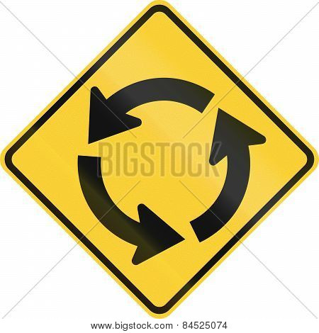 Traffic Circle Ahead