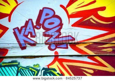 Street art Montreal KA POW!