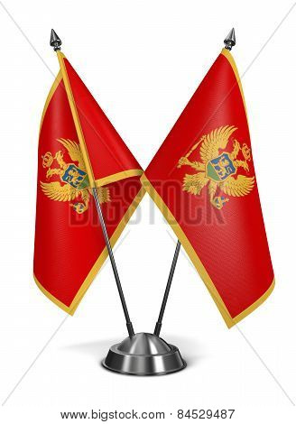 Montenegro - Miniature Flags.