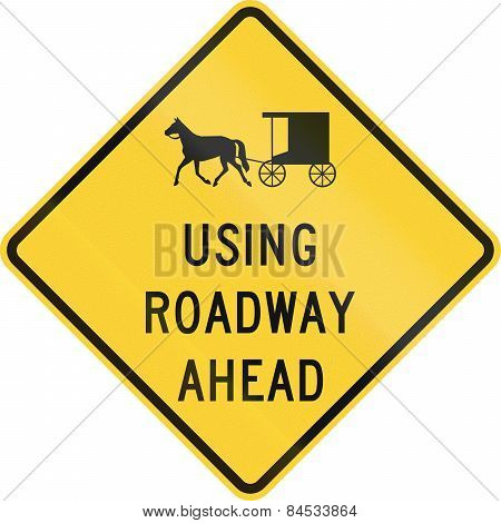 Carriages Use Road