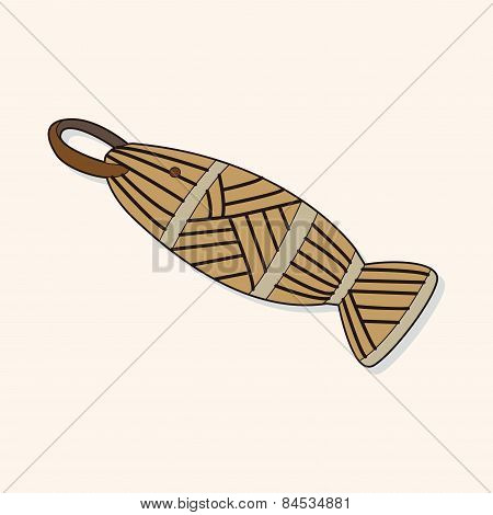 Fishing Bait Equipment Theme Elements Vector,eps