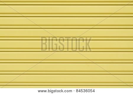 Corrugated Metal Sheet Slide Door