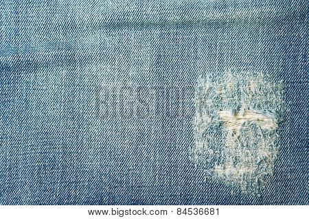 Jeans Texture And Background