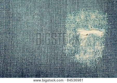 Ripped Jeans Texture