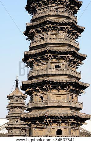 Nanxiang Twin Pagodas