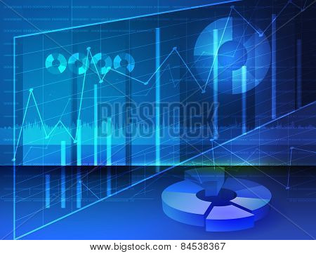 Abstract Diagrams Stock media Image digital graphs