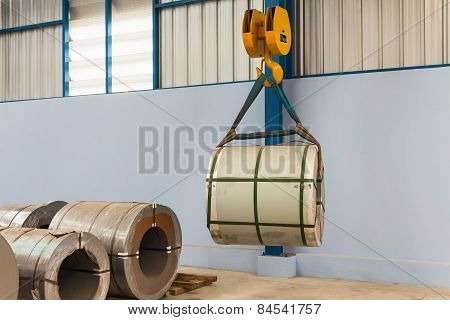Lifting Steel Coil
