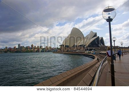 Sydney, Australia.. - December 2014: A View Of The Sydney Opera