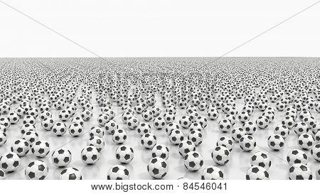 Endless soccer balls