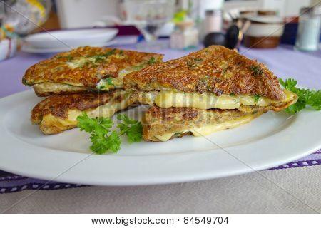 Gouda Cheese French Toast