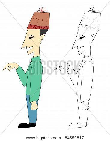 Cartoon Character Coloring