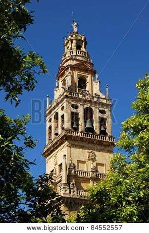 Cathedral bell tower, Cordoba.