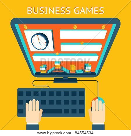 Business gamification. Making money as a game