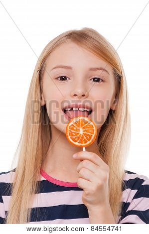 Girl With Lollipop.