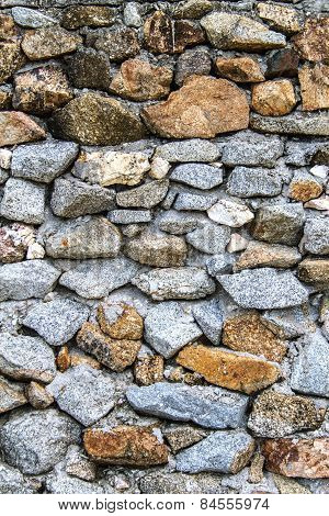 stone wall textured abstract and background