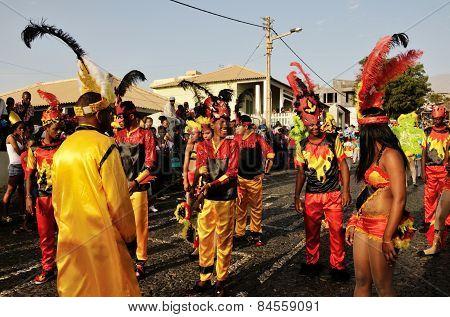 Preparing For Carnival
