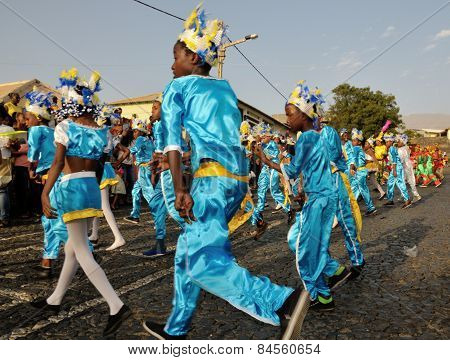 Kids Dance Away At Carnival